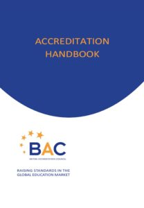 Click on the image to open the Accreditation Handbook